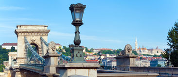 Budapest morning view Royalty Free Stock Image