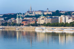 Budapest morning view. Stock Photo