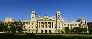 Budapest Museum of Ethnography Stock Photo