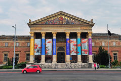 Budapest museum in the Heroes square Stock Photo