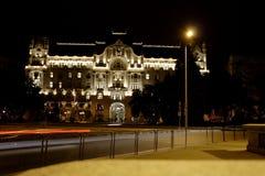 Budapest na noite foto de stock royalty free