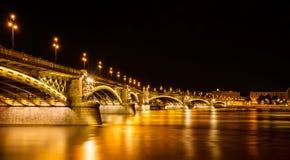 Budapest na noite Foto de Stock