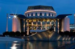 Budapest na noite Fotos de Stock Royalty Free