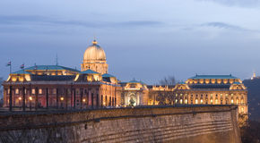 Budapest nachts Lizenzfreie Stockfotografie