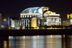 Budapest nationell teater Arkivbilder