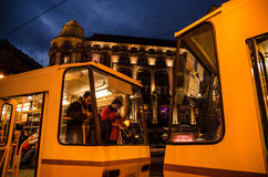 budapest natt Royaltyfri Foto