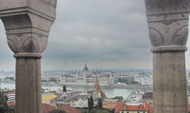 Budapest. Nice view of Budapest, the Danube Royalty Free Stock Image