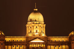 Budapest at night Stock Photography