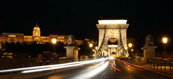 Budapest in night Royalty Free Stock Photos