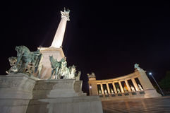 Budapest at night Royalty Free Stock Photo