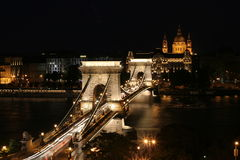 budapest night Στοκ φωτογραφία με δικαίωμα ελεύθερης χρήσης