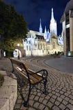 Budapest at night Royalty Free Stock Image
