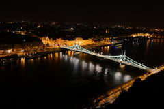 Budapest by Night Stock Photos