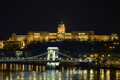BUdapest by night Royalty Free Stock Photos