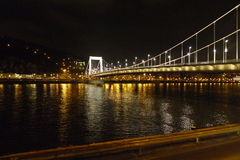 Budapest at night photo Royalty Free Stock Photography