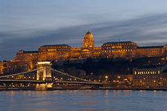 Budapest at night Stock Photos