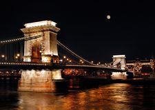 Budapest nightlife Royalty Free Stock Photo