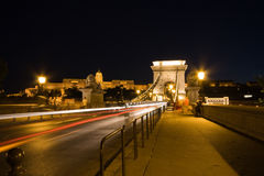 budapest nihgt Στοκ Φωτογραφίες
