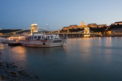 budapest nihgt Στοκ Εικόνα