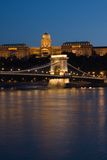 Budapest at nihgt Royalty Free Stock Image