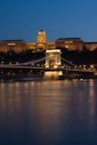 Budapest a nihgt Immagine Stock Libera da Diritti