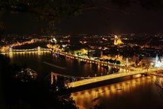 budapest noc Zdjęcie Stock