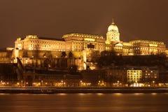 budapest noc Obraz Royalty Free