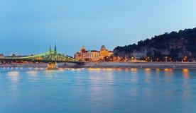 budapest noc widok Zdjęcia Stock