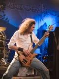 BUDAPEST-November 18: Winterborn band perform on B Stock Photo