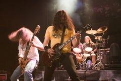 BUDAPEST-November 18: Winterborn band perform on B Stock Photography