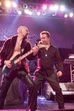 BUDAPEST-November 18: Winterborn band perform on B Stock Images