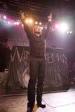 BUDAPEST-November 18: Winterborn band perform on B Royalty Free Stock Photos