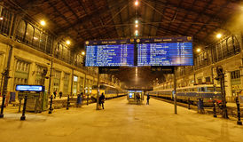 Budapest Nyugati kolei Terminal Obraz Stock