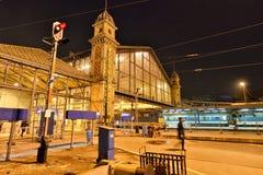 Budapest Nyugati kolei Terminal Obraz Royalty Free