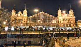 Budapest Nyugati Railway Terminal Stock Photos