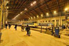 Budapest Nyugati Railway Terminal Royalty Free Stock Photos
