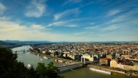 Budapest och Donau Royaltyfria Bilder