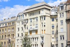 Budapest old architecture Royalty Free Stock Images