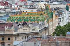 Budapest Old Town Royalty Free Stock Photography