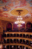 Budapest Opera House interior Royalty Free Stock Photos