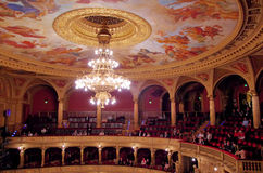 Budapest Opera House interior Stock Photo