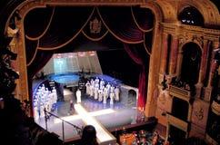 Budapest operahusetapp royaltyfri fotografi