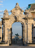Budapest, Ornate Arched Gateway Royalty Free Stock Image