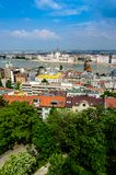 Budapest  overview Royalty Free Stock Photo