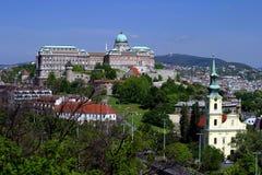 Budapest palace 2 Royalty Free Stock Images