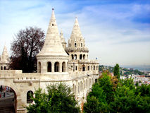 Budapest palace. One of the historical buildings in Budapest Royalty Free Stock Photography