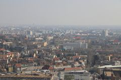 budapest panorama στοκ εικόνα με δικαίωμα ελεύθερης χρήσης