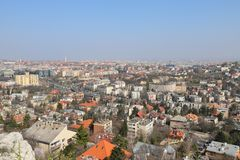 budapest panorama στοκ εικόνες