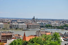 budapest panorama Zdjęcie Royalty Free