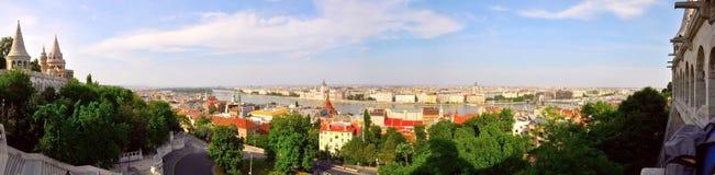Budapest panorama Stock Image